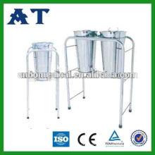 hand immersing bucket medical wash basin