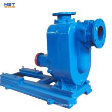 6-Zoll-Diesel-selbstansaugende Schmutzwasserpumpe