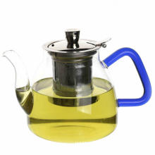 1.1LGlass Teapot With Stainless Steel Infuser/Glass Infuser