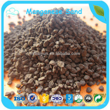 Tratamiento de agua Mno2 manganeso grano hecho en China