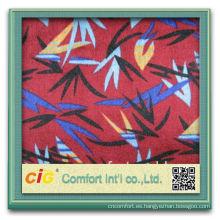 Forme el nuevo diseño bastante que hace punto la tela floral al por mayor del poliester