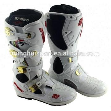 Bottes imperméables bon marché Bottes de course de moto / bottes d'équitation de motocross