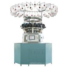 Компьютеризированная круглая машина жаккарда для плюшевого искусственного меха