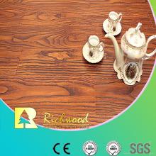8.3mm E1 HDF Embossed Walnut U-Grooved Waterproof Laminated Flooring