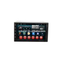 Fabrik direkt! Android 4.4 voller Touchscreen Auto DVD für Universal + Qual Core + OEM + Glanoss + TPMS + OBD