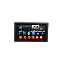Usine directement! Android 4.4 dvd de voiture écran tactile complet pour universel + core de base + OEM + Glanoss + TPMS + OBD