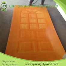 Hochglattes HPL-Polyester-Papiertür-Haut-Sperrholz für Indonesien