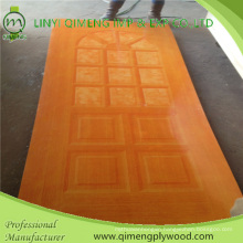 High Glossy HPL Polyester Paper Door Skin Plywood for Indonesia