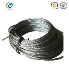 6 * 19 cuerda de alambre de acero inoxidable de 2 mm
