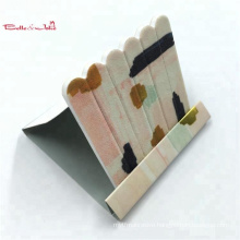 Top quality custom printed disposable mini matchbook nail file