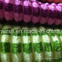 100% Baumwolle Streifen Cord Gewebe für Kissenbezug