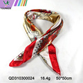 SPRING DESIGN SATIN SCARF