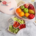 Novo tipo de prato de lanche para doces de frutas secas