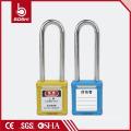 Bester Preis OEM ABS Isolierung Stahl Nylon Lange Schäkel BD-G21 mit76mm Sicherheit Vorhängeschloss & Tagout KD