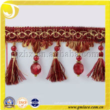 Red Beads Trimming Decoration for Tassel Berries Accessory Fringe Curtain