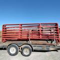 Venta al por mayor de tipos personalizados de paneles de ganado para la cría de ganado / caballo / cabra (galvanizado o en polvo)