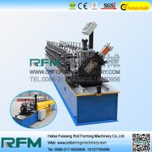 FX steel c channel z channel shape steel profile roll forming machine