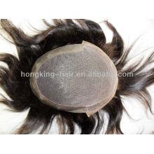 Cheap human hair toupees for men