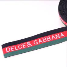 Safety Green Kevlar / Nylon / coton bande élastique pour vêtement