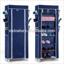 Armoire de rangement pour salle \ Mulit- Fonction Tube en acier Plateau de rangement pour chaussures \ Support de rangement
