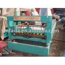Профилегибочная машина для производства двухслойных плит