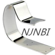 Supports en acier inoxydable en acier inoxydable poli miroir