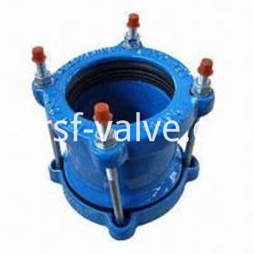 Strong Style Color B82220 Universal Strong Couplings Ductile Cast Iron Sand Casting Process Outer Coated With Blue Red Or Black