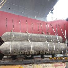 Hochwertiger Marine-Airbag für den Schiffsstart