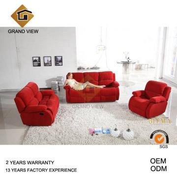 Mobilier moderne canapé inclinable de tissu (GV-RS463)
