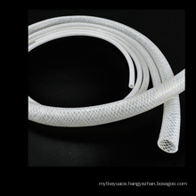 Durable Food Grade Fiber Braided Reinforced Rubber Silicone Tube