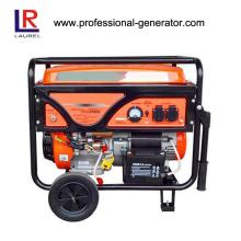 Gerador de gasolina refrigerado a ar portátil 5.5kw