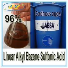 Лучшая цена на моющее средство сырье продажи линейного Алкилового Коксобензола Сульфоновая кислота 96%--ЛАБСА 96%