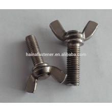 Perno de ala de acero inoxidable DIN316, pernos de ala de mariposaM4, M6, M8, M24