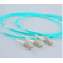 Nível de Telecomunicação Simplex 10G 50/125 Multimodo LC / SC / ST / FC Pigtail com melhor preço