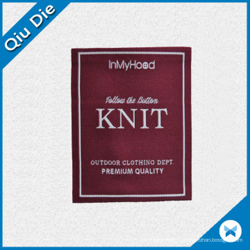 Premium Quality Woven Label for Outdoor Clothing Accessories