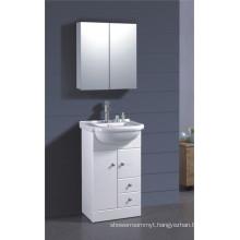 PVC White Painted Bathroom Cabinet (B-1317)