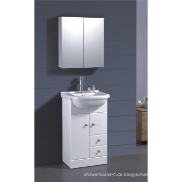 PVC Weiß lackierter Badezimmerschrank (B-1317)