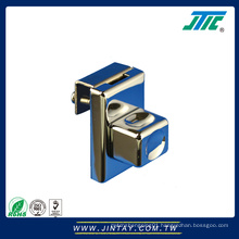 Stainless steel electric mechanical glass door lock
