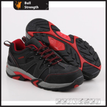 Industry Leather Safety Shoes with Rubber Sole (SN5263)