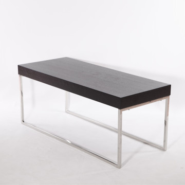 Table basse moderne en placage de MDF
