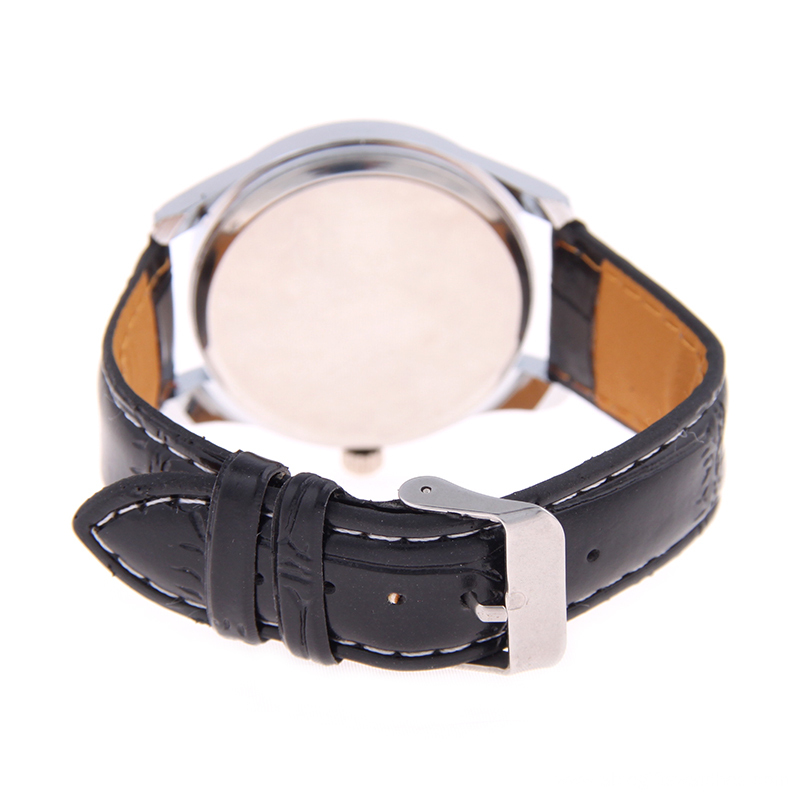 2016 Fashion Business Women Leather Wristband Watch