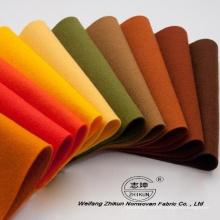 Tissu non tissé au polyester perforé à l'aiguille avec haute qualité