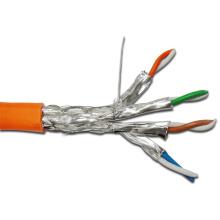 Câble LAN SC7 blindé SFTP de 10 Go 650 MHz avec jaquette LSZH