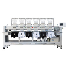 QS-920F 20 Heads Computerized Embroidery Machine Dahao Computer for T shirt logo label