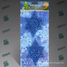 Décorations de Noël mexicaines en plastique bleu