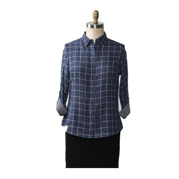 Frauen Button Shirts Casual Langarm