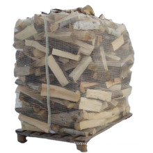 Eco Friendly Breathable Firewood Bulk Mesh PP Big Bag For Packing Wood Bulk With Tie Ventilated Firewood Bags For Canada