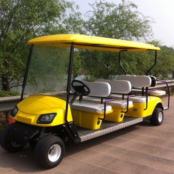 8 seat electric golf cart