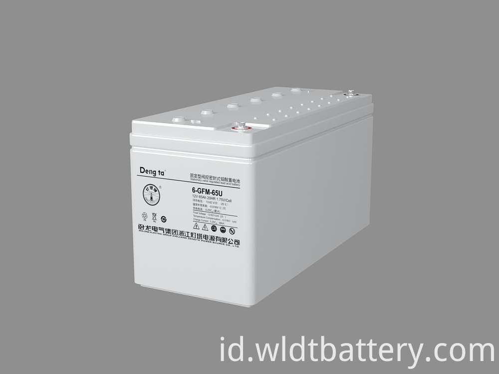 Uninterruptible Power System, UPS Solution VRLA Battery, 12V 80Ah Lead Acid Battery