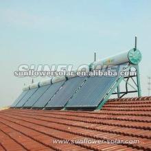 2014 Chauffe-eau solaire intégrateur haute qualité Système de contrôle numérique pour piscine